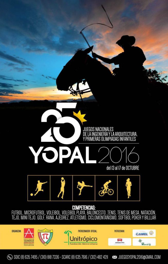 juegos nacionales de la ingeniera y la y primeras olimpiadas infantiles u yopal