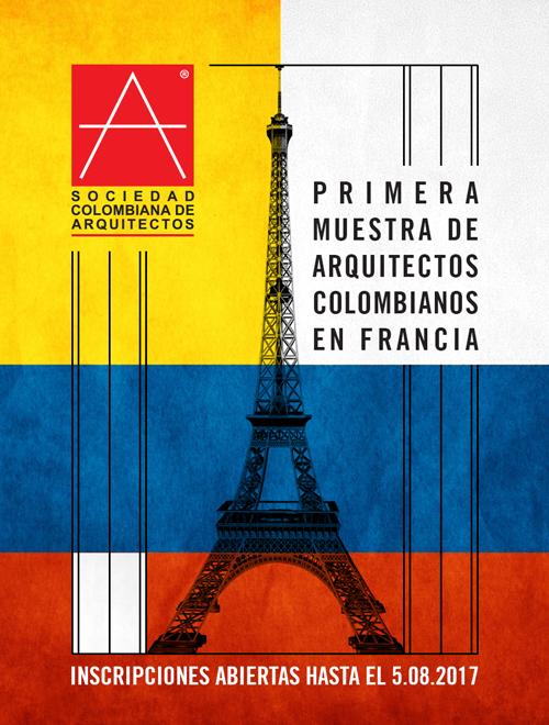 Primera muestra de arquitectos colombianos en francia for Arquitectos colombianos