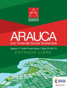 Arauca con Vivienda Social Sostenible @ Hotel Punta Arena
