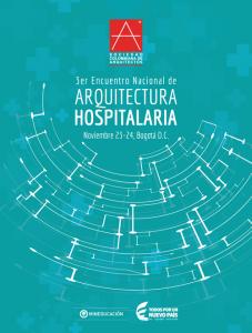 3er. Encuentro Nacional de Arquitectura Hospitalaria @ Bogotá