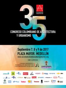 35 Congreso Colombiano de Arquitectura y Urbanismo @ Medellín