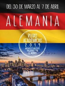 RUTA ACADÉMICA ALEMANIA 2019