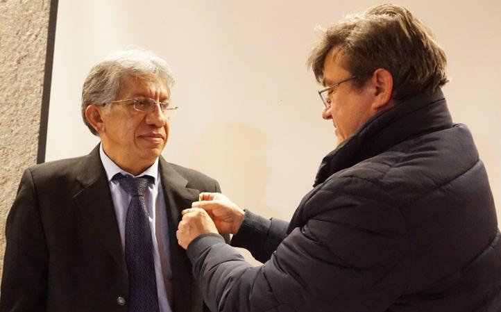 Arq. Alfredo Reyes Rojas / Presidente Nacional